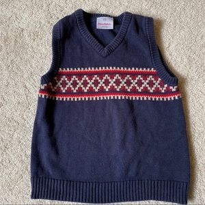 Boys sweater vest Hanna Andersson size 110
